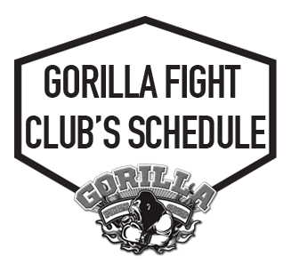 Gorilla Fight Club's Schedule